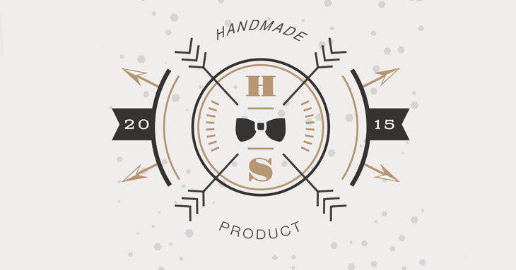 Vintage Logo for Handmade Product