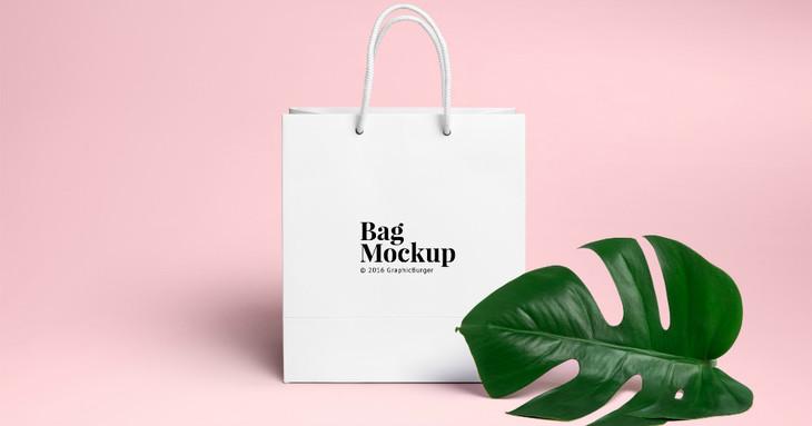 15  free psd shopping bag mockups