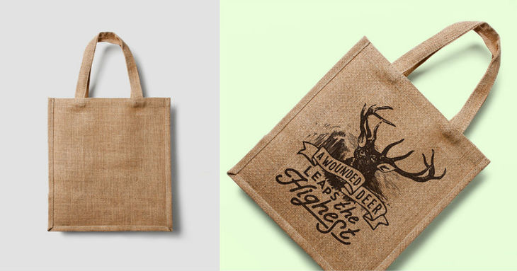 Eco Shopping Bag Mockup