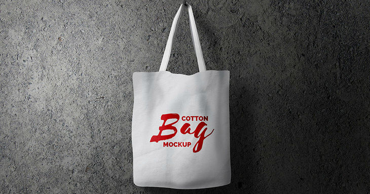 Cotton Bag PSD Mockup